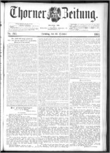 Thorner Zeitung 1892. Nr. 243 + Beilage