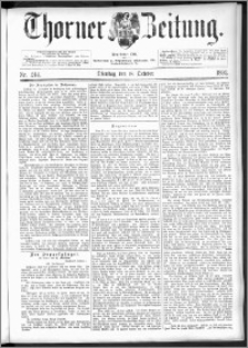 Thorner Zeitung 1892. Nr. 244