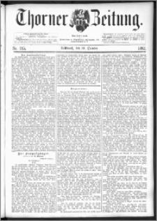 Thorner Zeitung 1892. Nr. 245