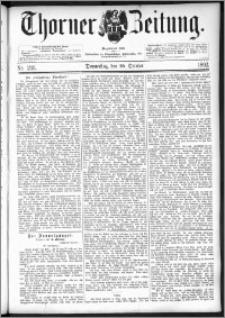 Thorner Zeitung 1892. Nr. 246