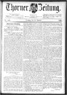 Thorner Zeitung 1892. Nr. 250