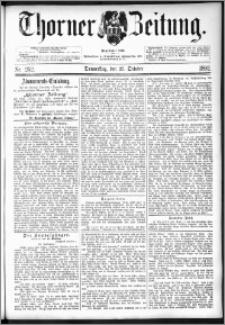 Thorner Zeitung 1892. Nr. 252