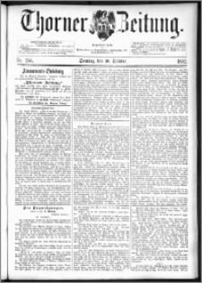 Thorner Zeitung 1892. Nr. 255 + Beilage