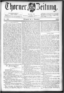 Thorner Zeitung 1892. Nr. 257
