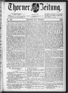 Thorner Zeitung 1892. Nr. 258