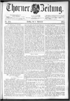 Thorner Zeitung 1892. Nr. 259 + Extra-Beilage
