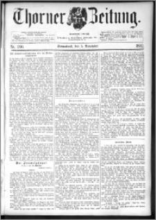 Thorner Zeitung 1892. Nr. 260