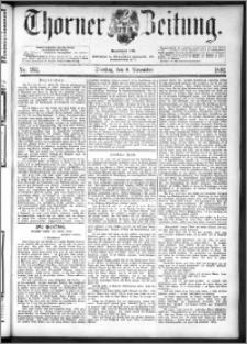 Thorner Zeitung 1892. Nr. 262