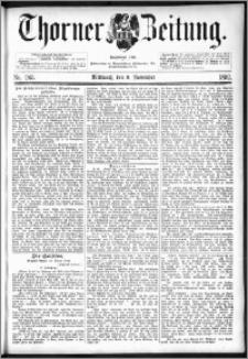 Thorner Zeitung 1892. Nr. 263