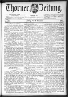 Thorner Zeitung 1892. Nr. 265