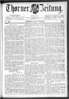 Thorner Zeitung 1892. Nr. 266