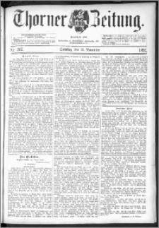 Thorner Zeitung 1892. Nr. 267 + Beilage