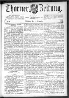 Thorner Zeitung 1892. Nr. 269