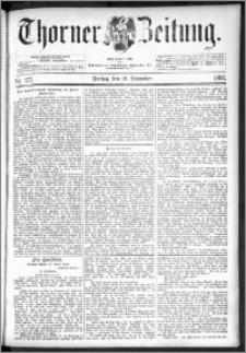 Thorner Zeitung 1892. Nr. 271