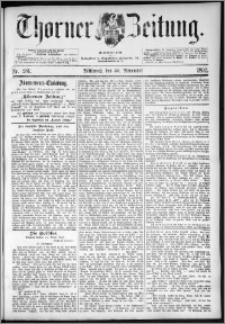 Thorner Zeitung 1892. Nr. 281