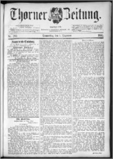 Thorner Zeitung 1892. Nr. 282