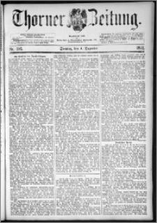 Thorner Zeitung 1892. Nr. 285
