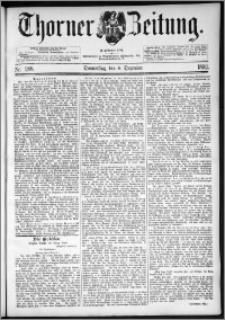 Thorner Zeitung 1892. Nr. 288