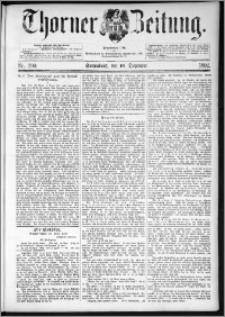 Thorner Zeitung 1892. Nr. 290