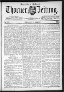 Thorner Zeitung 1892. Nr. 291 Zweites Blatt