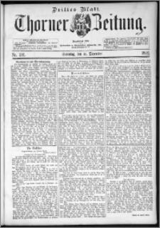 Thorner Zeitung 1892. Nr. 291 Drittes Blatt