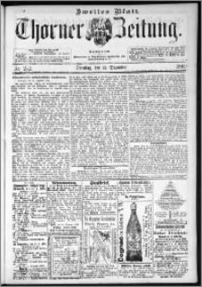 Thorner Zeitung 1892. Nr. 292 Zweites Blatt