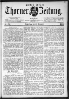 Thorner Zeitung 1892. Nr. 294 Erstes Blatt