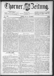 Thorner Zeitung 1892. Nr. 295