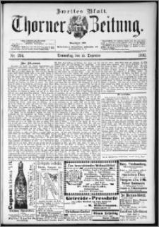 Thorner Zeitung 1892. Nr. 294 Zweites Blatt