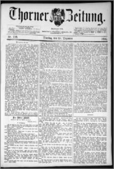Thorner Zeitung 1892. Nr. 298