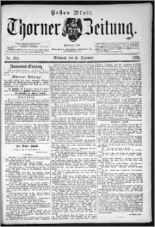 Thorner Zeitung 1892. Nr. 299 Erstes Blatt