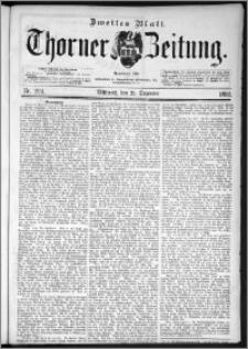 Thorner Zeitung 1892. Nr. 299 Zweites Blatt