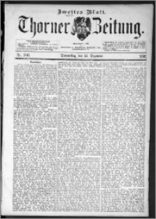 Thorner Zeitung 1892. Nr. 300 Zweites Blatt