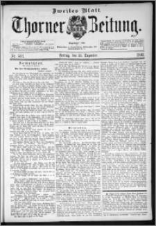 Thorner Zeitung 1892. Nr. 301 Zweites Blatt