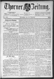 Thorner Zeitung 1892. Nr. 302