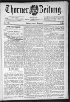 Thorner Zeitung 1892. Nr. 306