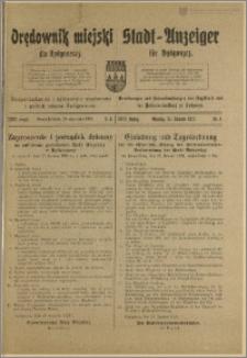 Bromberger Stadt-Anzeiger, J. 38, 1921, nr 6
