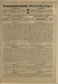 Bromberger Stadt-Anzeiger, J. 38, 1921, nr 21