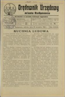 Orędownik Urzędowy Miasta Bydgoszczy, R.39, 1922, Nr 15