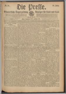 Die Presse 1910, Jg. 28, Nr. 36 Zweites Blatt