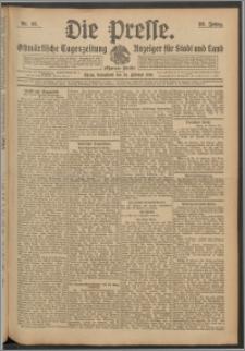 Die Presse 1910, Jg. 28, Nr. 48 Zweites Blatt, Drittes Blatt