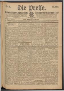 Die Presse 1910, Jg. 28, Nr. 79 Zweites Blatt, Drittes Blatt