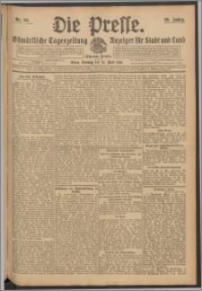 Die Presse 1910, Jg. 28, Nr. 96 Zweites Blatt, Drittes Blatt