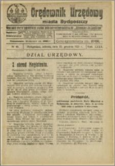 Orędownik Urzędowy Miasta Bydgoszczy, R.40, 1923, Nr 40