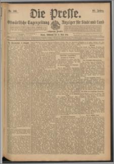 Die Presse 1910, Jg. 28, Nr. 108 Zweites Blatt, Drittes Blatt