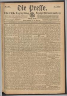 Die Presse 1910, Jg. 28, Nr. 120 Zweites Blatt, Drittes Blatt