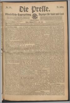 Die Presse 1910, Jg. 28, Nr. 173 Zweites Blatt, Drittes Blatt