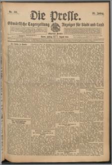 Die Presse 1910, Jg. 28, Nr. 181 Zweites Blatt, Drittes Blatt