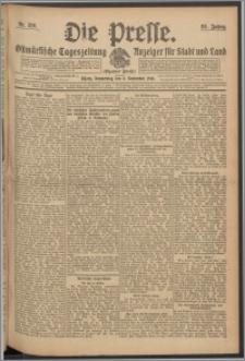 Die Presse 1910, Jg. 28, Nr. 210 Zweites Blatt, Drittes Blatt