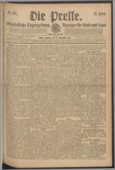 Die Presse 1910, Jg. 28, Nr. 229 Zweites Blatt, Drittes Blatt, Viertes Blatt